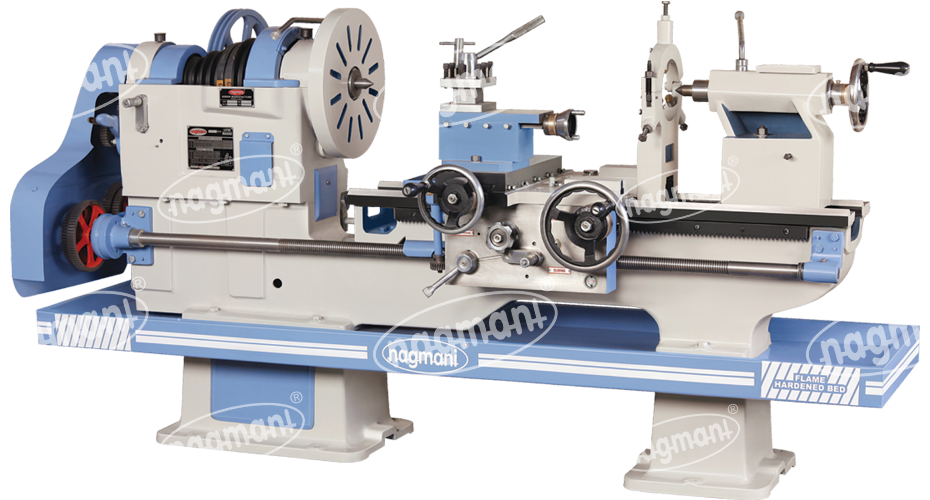 Light, Medium & Heavy Duty Lathe Machines from Nagmani Lathe